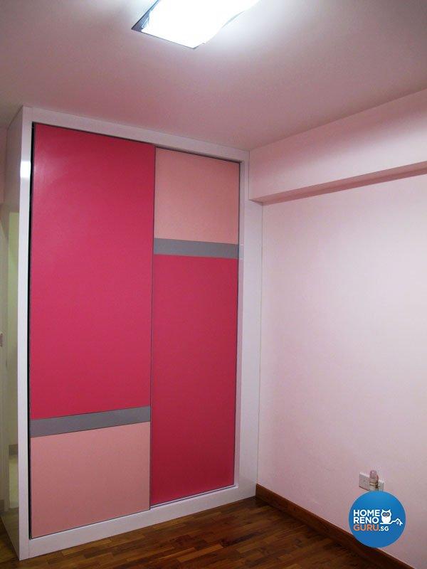 Contemporary, Minimalist, Modern Design - Bedroom - HDB 5 Room - Design by Colourbox Interior Pte Ltd