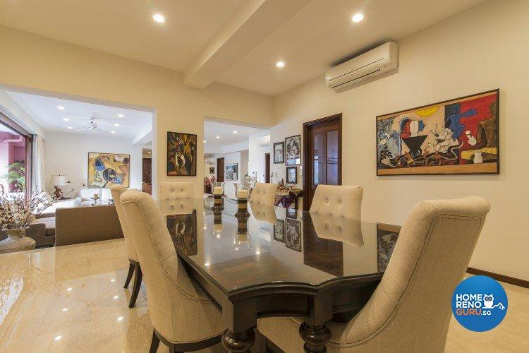 Contemporary, Modern Design - Dining Room - Condominium - Design by Concept Living Pte Ltd