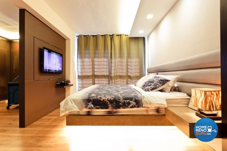 Contemporary, Country, Modern Design - Bedroom - HDB 5 Room - Design by Connectix Interior Design Pte Ltd
