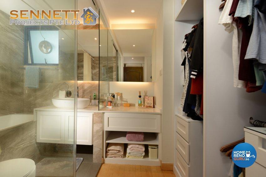 Victorian Design - Bathroom - Condominium - Design by Sennett Projects Pte Ltd