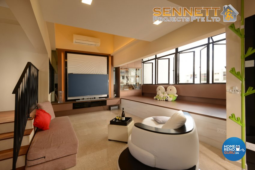Classical Design - Living Room - Others - Design by Sennett Projects Pte Ltd