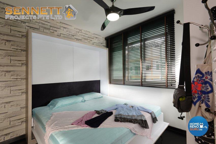 Modern Design - Bedroom - Condominium - Design by Sennett Projects Pte Ltd