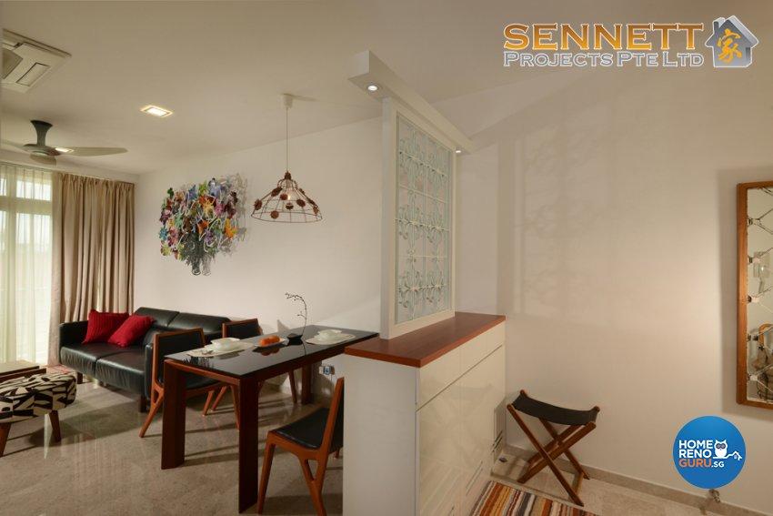 Minimalist Design - Dining Room - Condominium - Design by Sennett Projects Pte Ltd