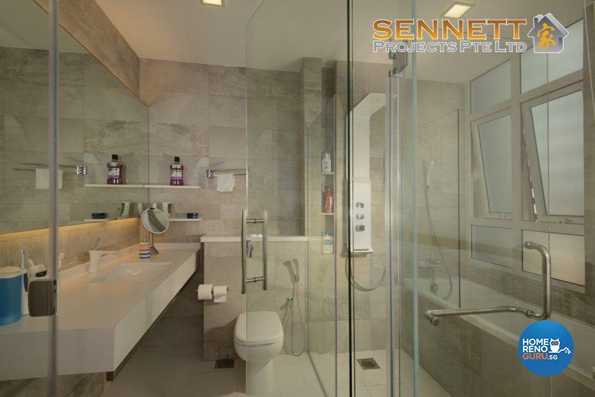 Minimalist Design - Bathroom - Condominium - Design by Sennett Projects Pte Ltd