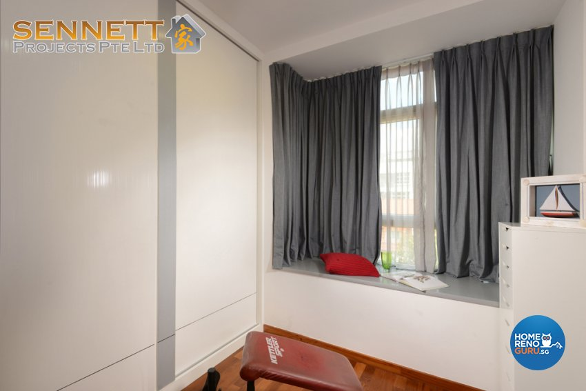 Minimalist Design - Bedroom - Condominium - Design by Sennett Projects Pte Ltd
