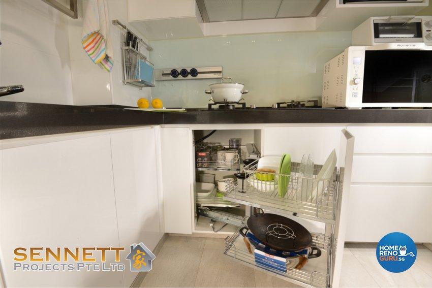 Minimalist Design - Kitchen - Condominium - Design by Sennett Projects Pte Ltd