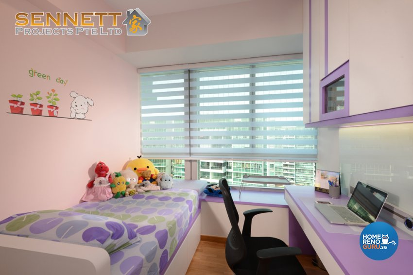Modern Design - Bedroom - Condominium - Design by Sennett Projects Pte Ltd