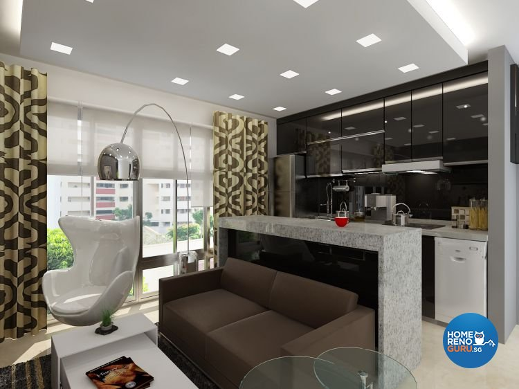 Classical, Contemporary, Modern Design - Living Room - Condominium - Design by Cosy Living Pte Ltd