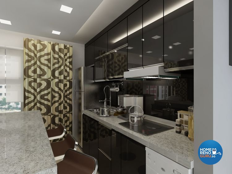 Classical, Contemporary, Modern Design - Kitchen - Condominium - Design by Cosy Living Pte Ltd