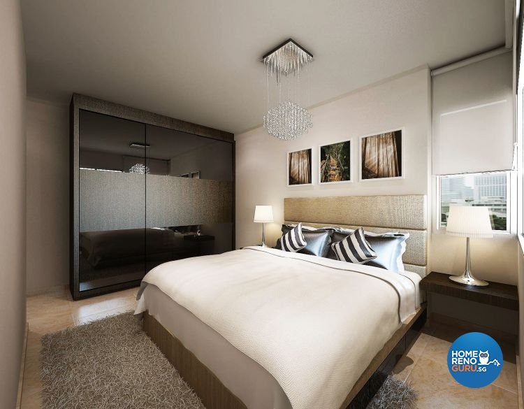 Contemporary, Modern Design - Bedroom - HDB 5 Room - Design by Cosy Living Pte Ltd