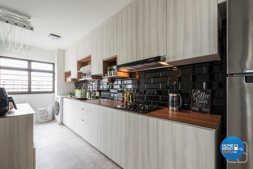 Industrial, Modern, Others Design - Kitchen - HDB 4 Room - Design by Couple Abode Pte Ltd