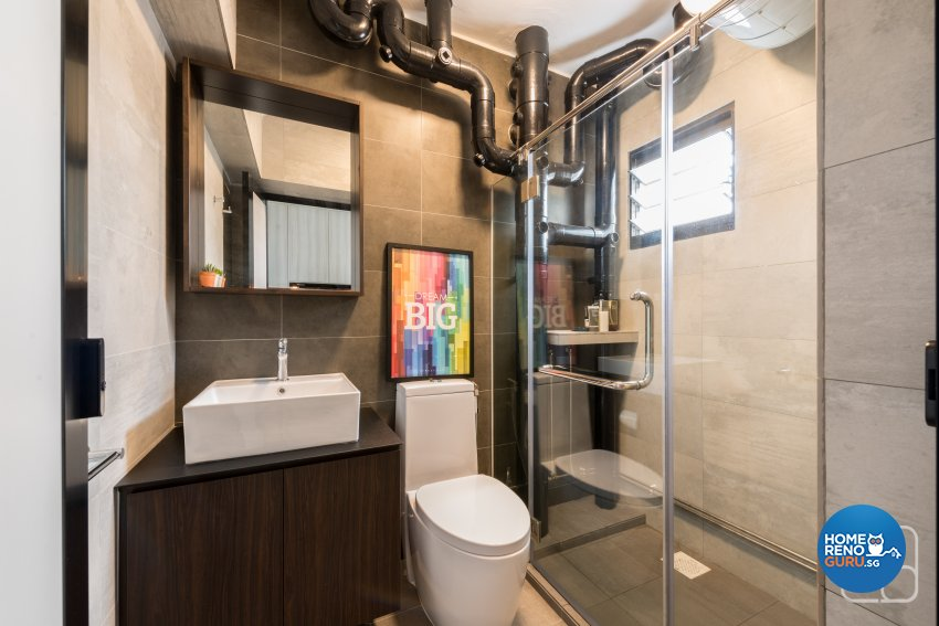 Industrial, Modern, Others Design - Bathroom - HDB 4 Room - Design by Couple Abode Pte Ltd