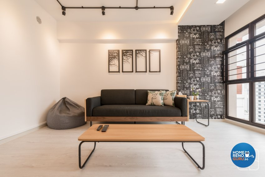 Industrial, Modern, Others Design - Living Room - HDB 4 Room - Design by Couple Abode Pte Ltd
