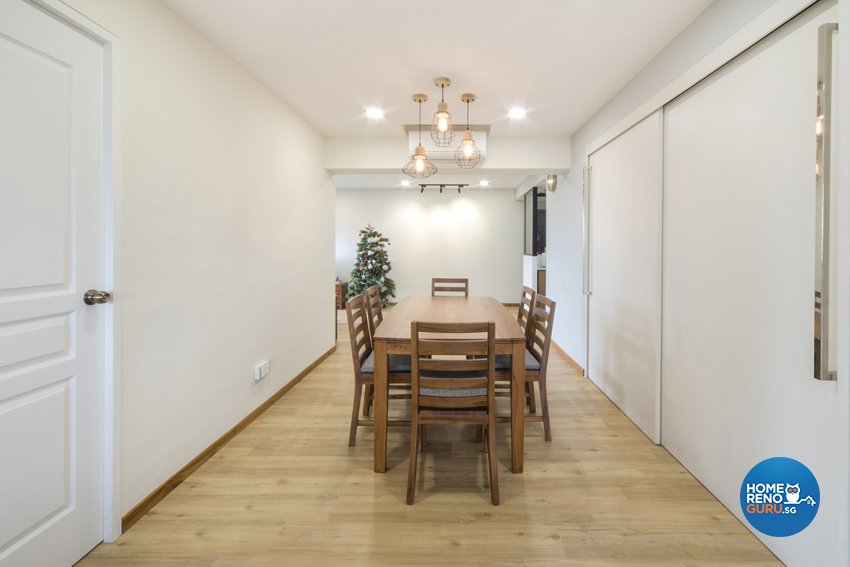 Scandinavian Design - Dining Room - HDB 5 Room - Design by Cozy Ideas Interior Design Pte Ltd