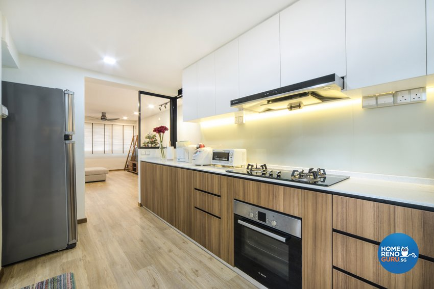 Scandinavian Design - Kitchen - HDB 5 Room - Design by Cozy Ideas Interior Design Pte Ltd