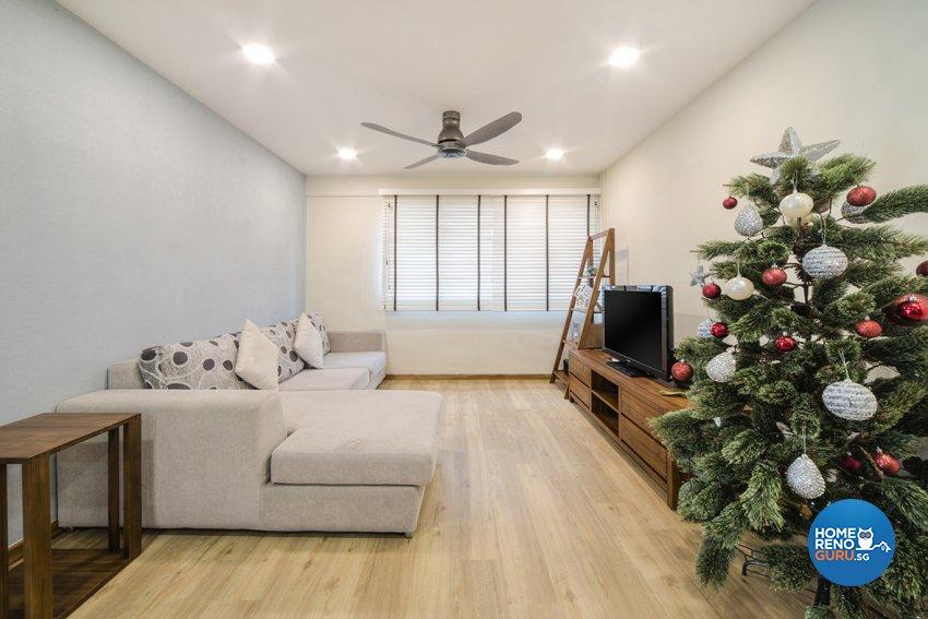Scandinavian Design - Living Room - HDB 5 Room - Design by Cozy Ideas Interior Design Pte Ltd