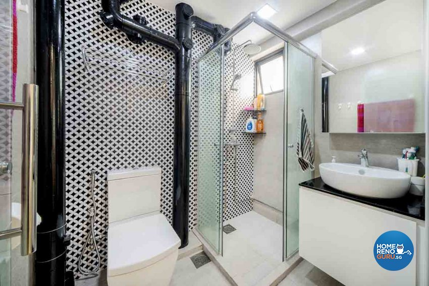 Scandinavian Design - Bathroom - HDB 5 Room - Design by Cozy Ideas Interior Design Pte Ltd