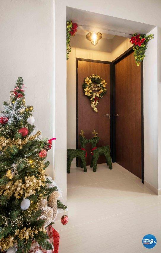 Contemporary, Rustic Design - Bedroom - HDB 3 Room - Design by Cozy Ideas Interior Design Pte Ltd