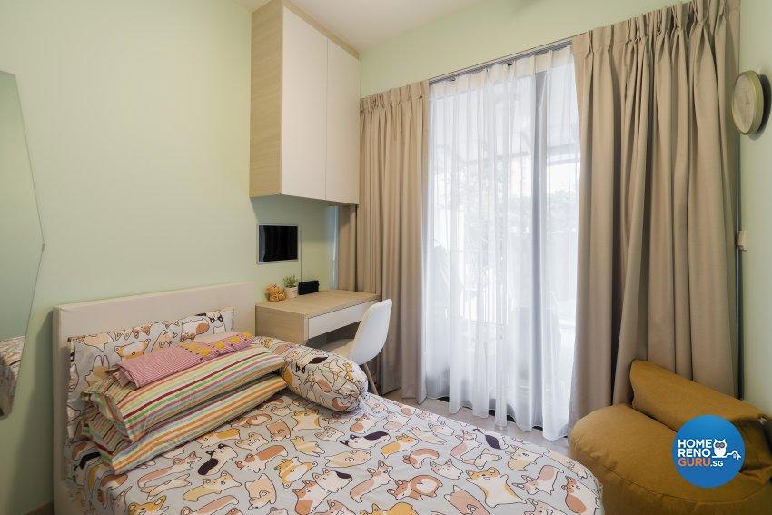 Contemporary, Modern, Scandinavian Design - Bedroom - Condominium - Design by Cozy Ideas Interior Design Pte Ltd