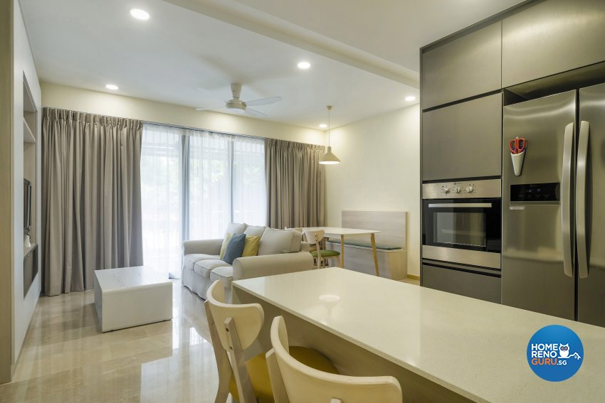 Contemporary, Modern, Scandinavian Design - Living Room - Condominium - Design by Cozy Ideas Interior Design Pte Ltd