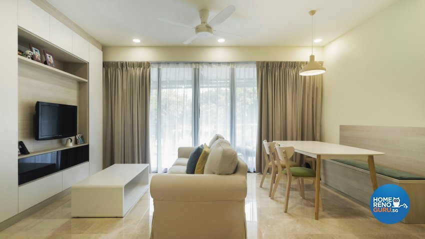 Contemporary, Modern, Scandinavian Design - Living Room - Condominium - Design by Cozy Ideas Interior Design Pte Ltd