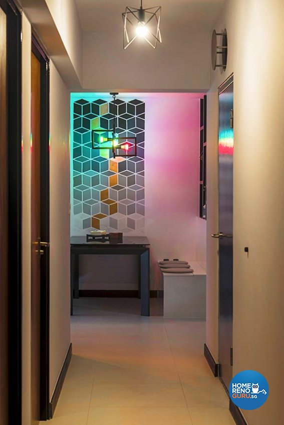 Bto Hdb 4 Room: Cozy Ideas Interior Design Pte Ltd 56 Teban Gardens Bto