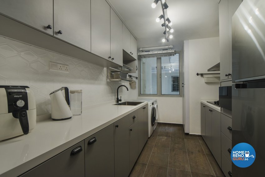 Classical, Contemporary Design - Kitchen - Condominium - Design by Cozy Ideas Interior Design Pte Ltd