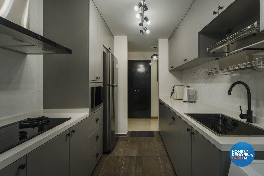 Classical, Contemporary Design - Kitchen - Condominium - Design by Cozy Ideas Interior Design Pte Ltd