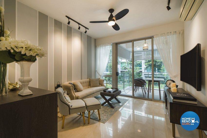 Classical, Contemporary Design - Living Room - Condominium - Design by Cozy Ideas Interior Design Pte Ltd