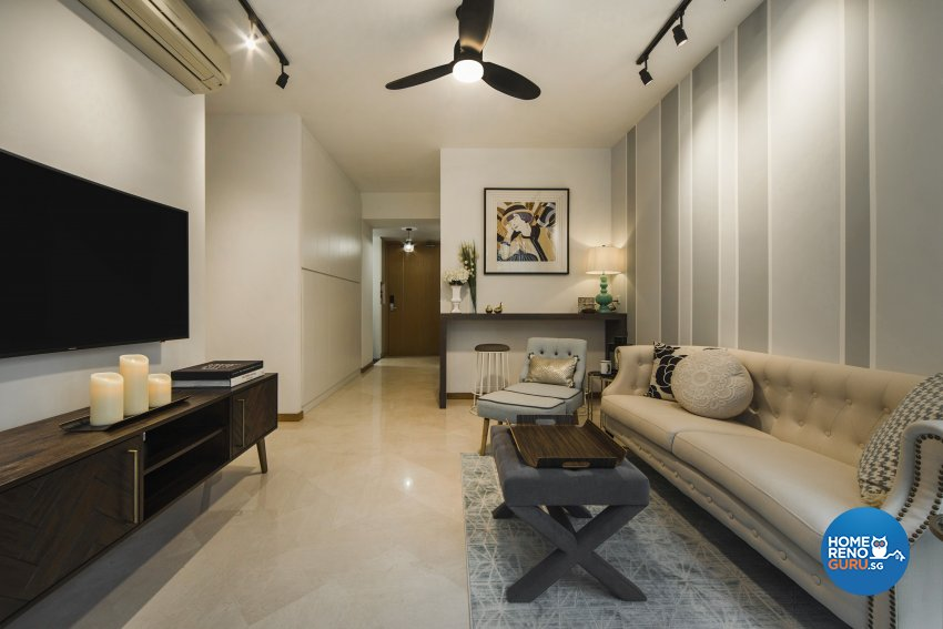 Classical, Contemporary Design - Living Room - Condominium - Design by Cozy Ideas Interior Design Pte Ltd