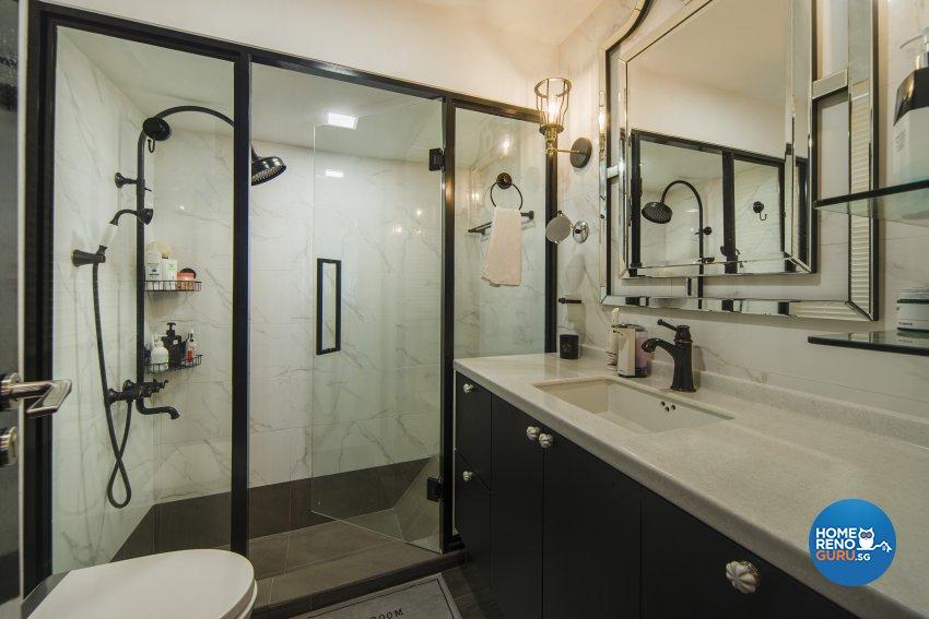Classical, Contemporary Design - Bathroom - Condominium - Design by Cozy Ideas Interior Design Pte Ltd