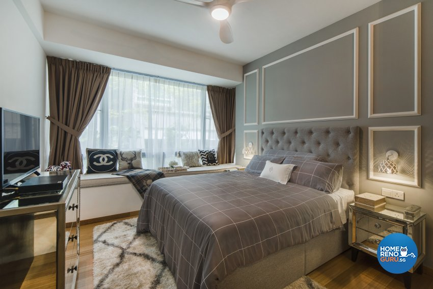 Classical, Contemporary Design - Bedroom - Condominium - Design by Cozy Ideas Interior Design Pte Ltd