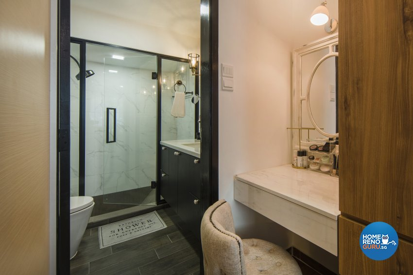 Classical, Contemporary Design - Bathroom - Condominium - Design by Cozy Ideas Interior Design Pte Ltd