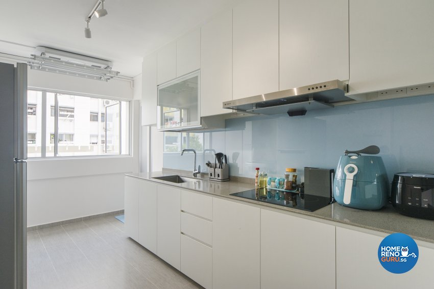 Minimalist, Scandinavian Design - Kitchen - HDB 5 Room - Design by Cozy Ideas Interior Design Pte Ltd