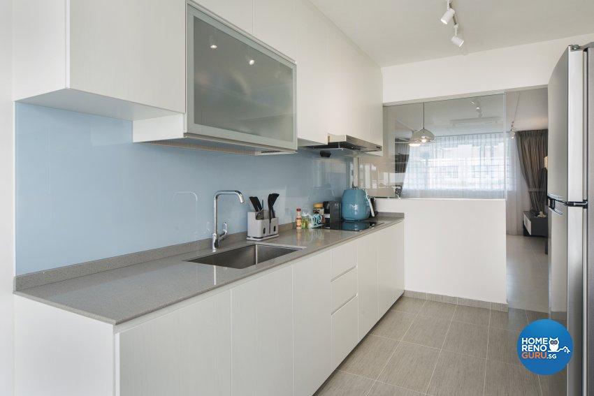 Minimalist, Scandinavian Design - Kitchen - HDB 5 Room - Design by Cozy Ideas Interior Design Pte Ltd