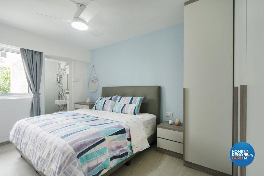 Minimalist, Scandinavian Design - Bedroom - HDB 5 Room - Design by Cozy Ideas Interior Design Pte Ltd