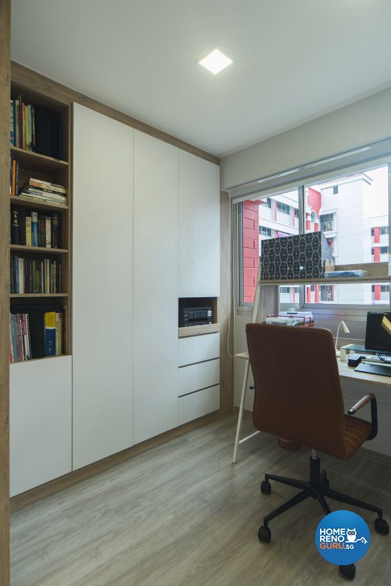 Hdb Study Room Design Ideas: Cozy Ideas Interior Design Pte Ltd Blk 440 Hougang Hdb