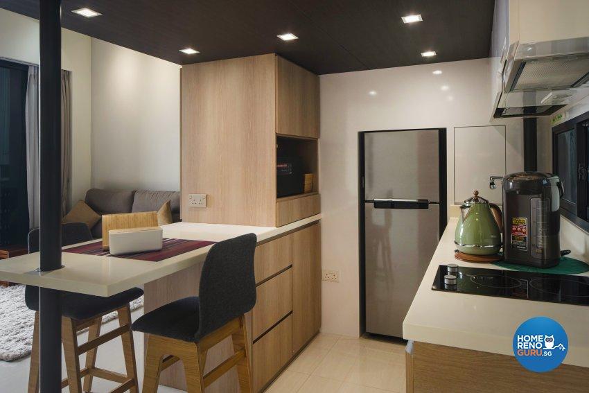 Contemporary Design - Kitchen - Condominium - Design by Cozy Ideas Interior Design Pte Ltd
