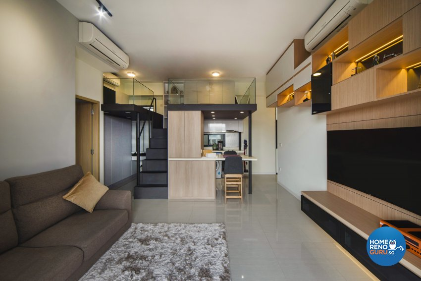 Contemporary Design - Living Room - Condominium - Design by Cozy Ideas Interior Design Pte Ltd
