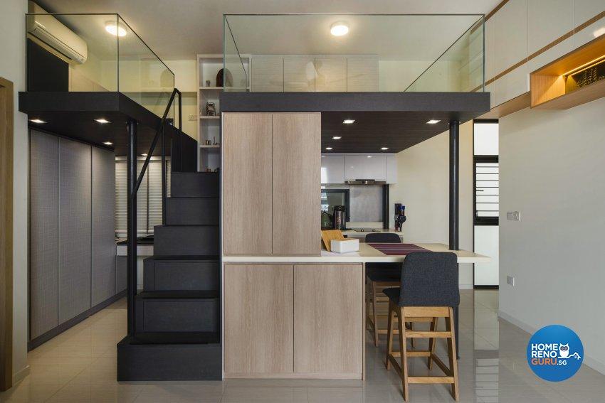 Contemporary Design - Bedroom - Condominium - Design by Cozy Ideas Interior Design Pte Ltd