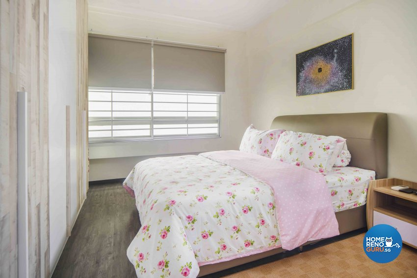 Contemporary, Scandinavian Design - Bedroom - HDB Executive Apartment - Design by Cozy Ideas Interior Design Pte Ltd