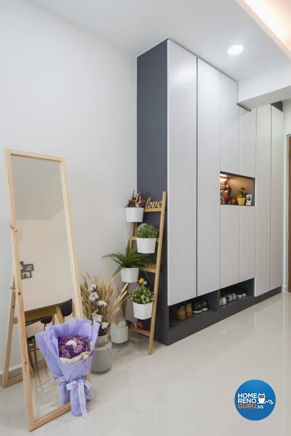 Scandinavian Design - Living Room - HDB 4 Room - Design by Cozy Ideas Interior Design Pte Ltd