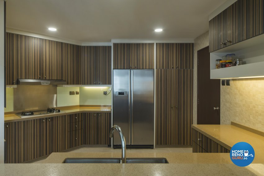 Oriental Design - Kitchen - Condominium - Design by Cozy Ideas Interior Design Pte Ltd