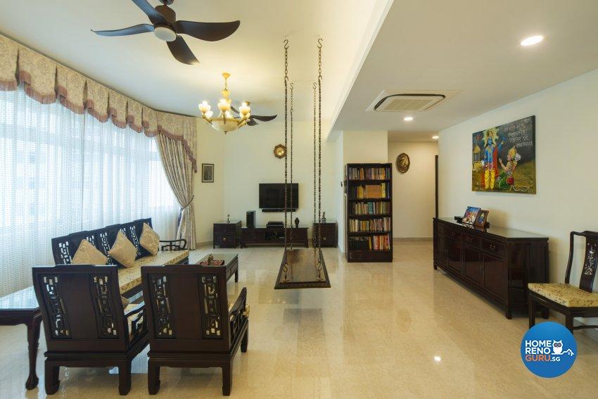 Oriental Design - Living Room - Condominium - Design by Cozy Ideas Interior Design Pte Ltd