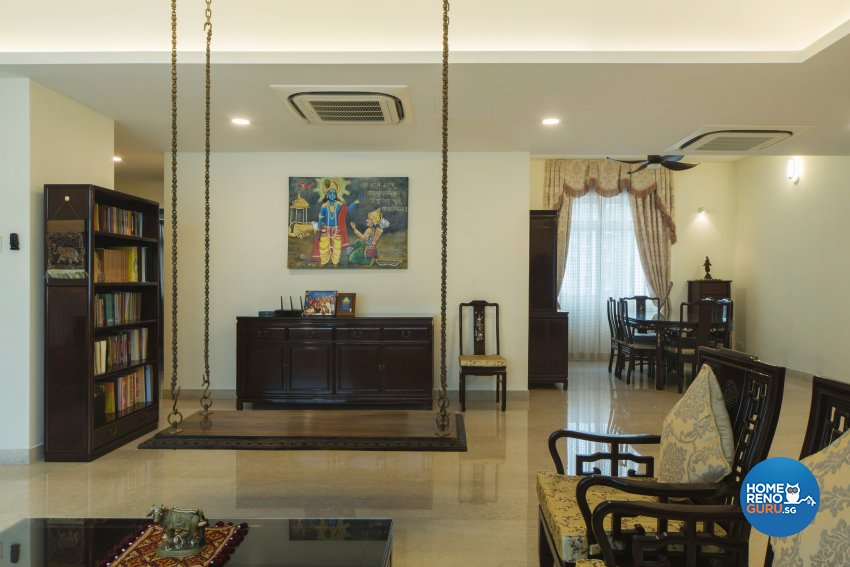Oriental Design - Living Room - Condominium - Design by Cozy Ideas Interior Design Pte Ltd
