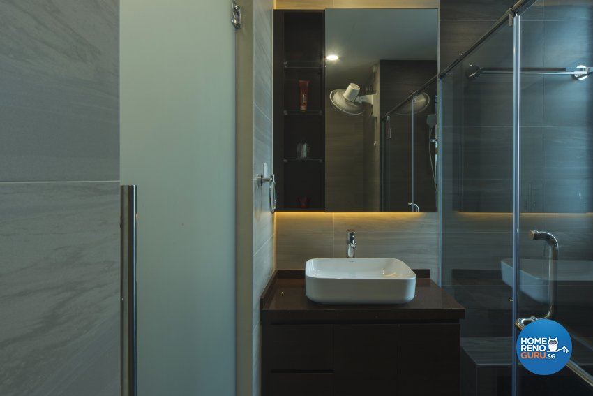 Oriental Design - Bathroom - Condominium - Design by Cozy Ideas Interior Design Pte Ltd