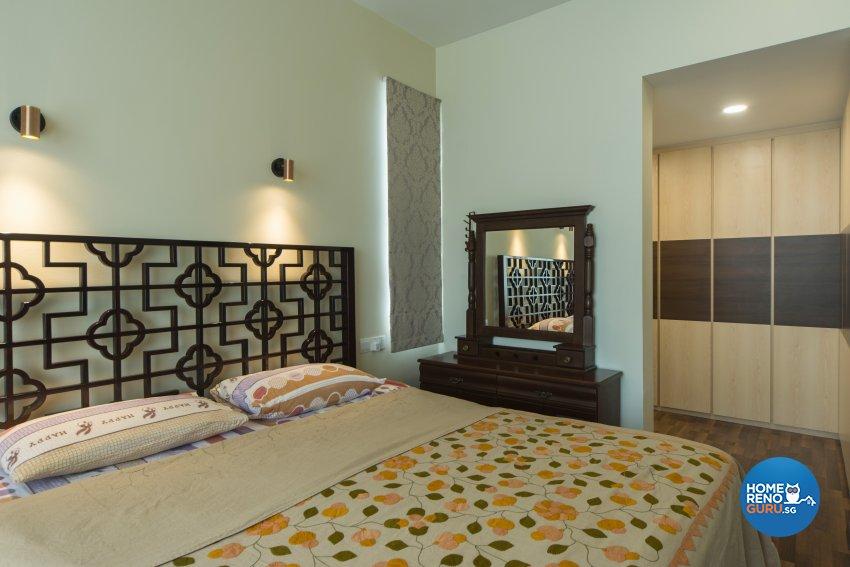 Oriental Design - Bedroom - Condominium - Design by Cozy Ideas Interior Design Pte Ltd