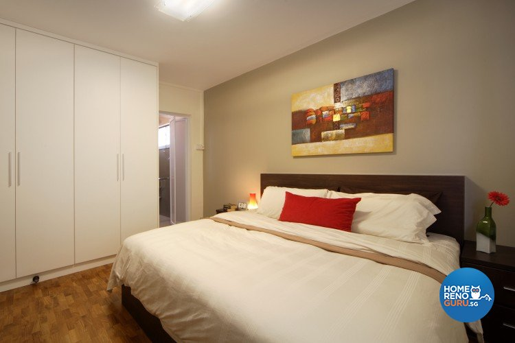 Contemporary, Modern Design - Bedroom - HDB 5 Room - Design by Cre8 ID Pte Ltd