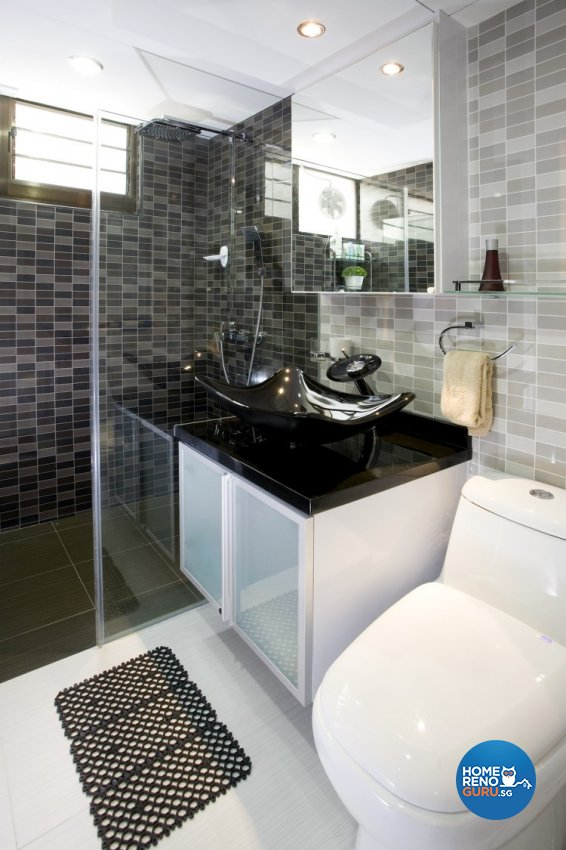 Contemporary, Modern Design - Bathroom - HDB 5 Room - Design by Cre8 ID Pte Ltd