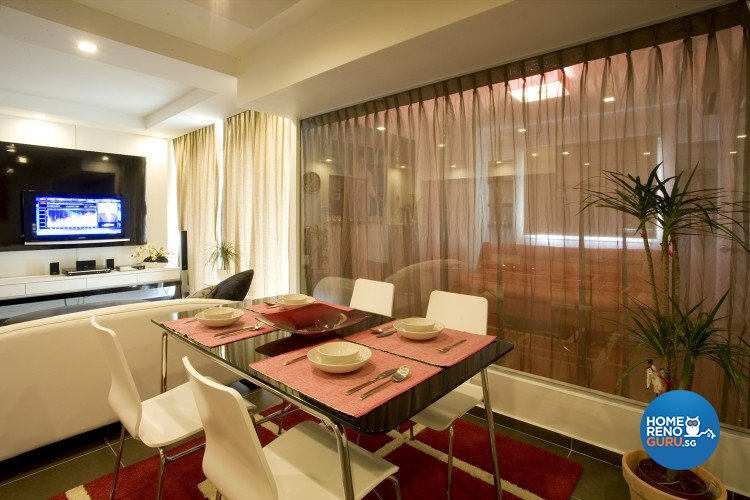 Contemporary, Modern Design - Dining Room - HDB 5 Room - Design by Cre8 ID Pte Ltd